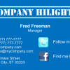 Business Card 4 Back