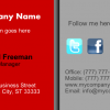 Business Card 5 Front