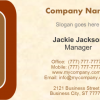 Business Card 8 Front