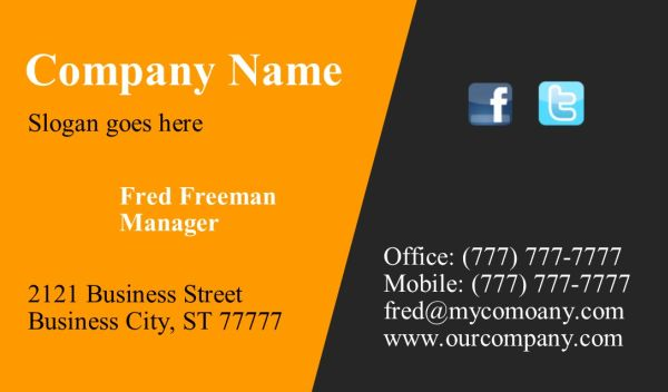 Business Card #24 - Front