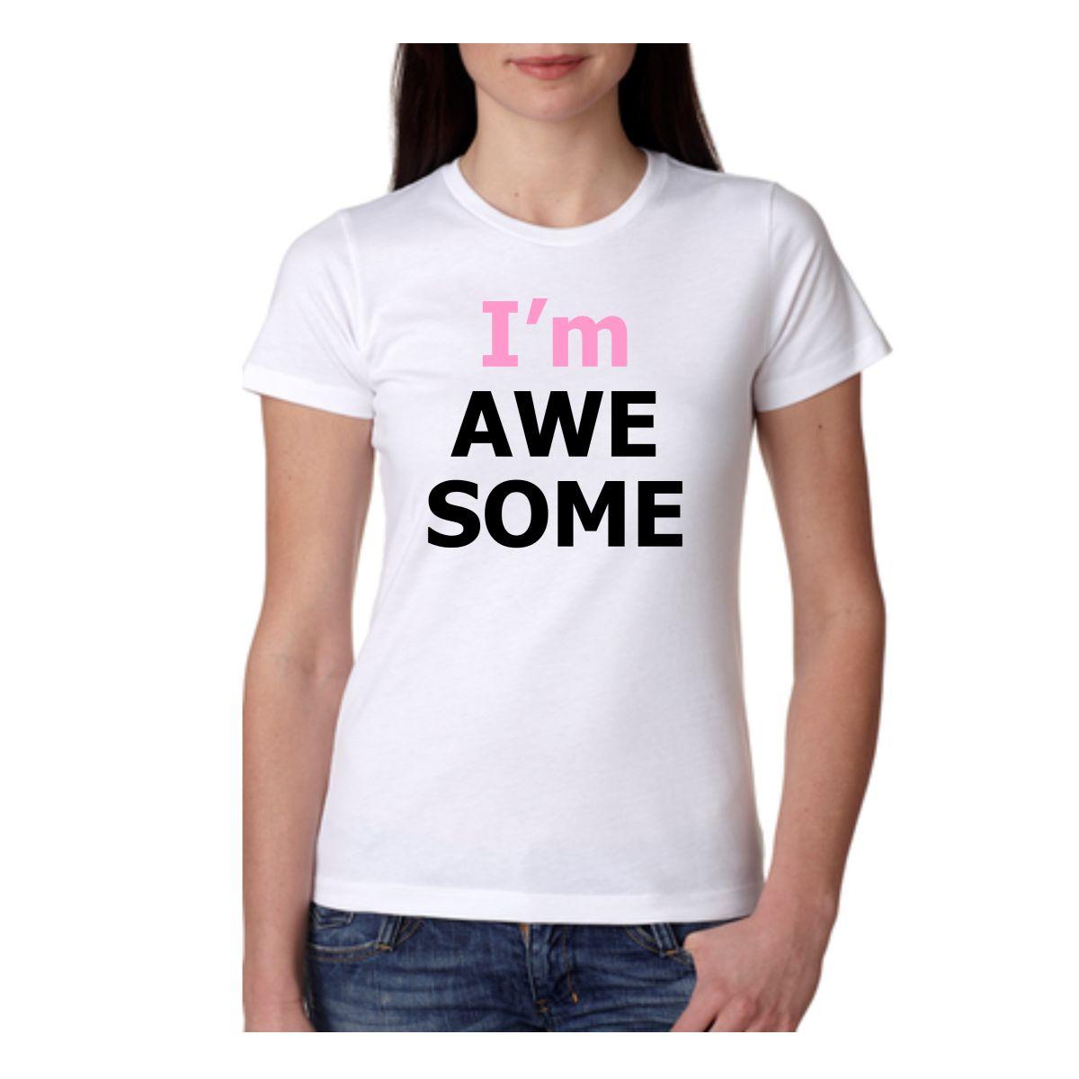 Ladies T-Shirt White -GL062720182-1